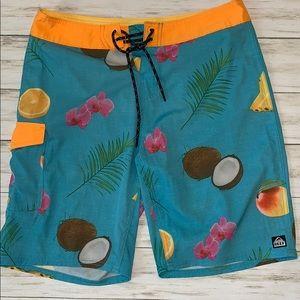 Reef Board Shorts Size 31